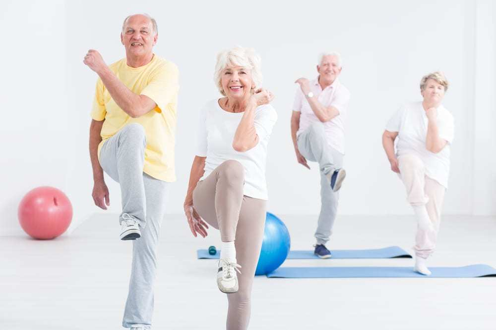 Fall Prevention Exercises for the Elderly