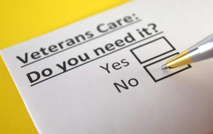 veteran care benefits